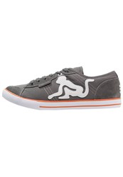 Drunknmunky New England Classic Trainers Deep Grey Orange