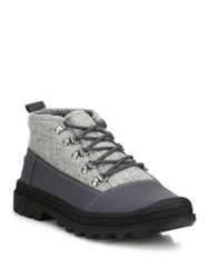 Toms Leather Blend Cordova Boots Grey