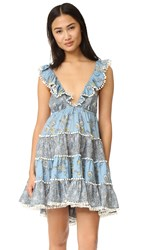 Zimmermann Caravan Tiered Sun Dress Splice