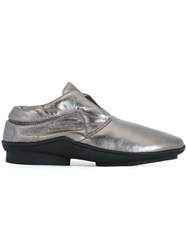 Trippen 'Bolster' Loafers Metallic