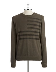 William Rast French Terry Pullover Sage Green
