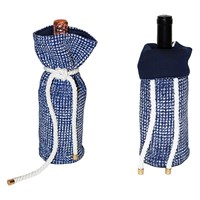 Winefarer Insulated Wine Bags Nautical Noir