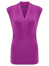 Adrianna Papell Cap Sleeve Top Pink