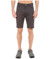 Black Diamond Stretch Font Shorts Slate Men's Shorts Metallic