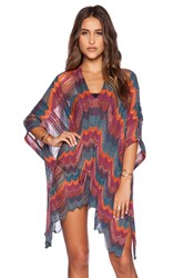 Goddis Rory Poncho Dress Maroon