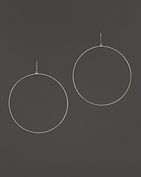 Lana Jewelry 14K Yellow Gold La Bangle Hoops