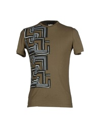 Karl Lagerfeld T Shirts Military Green
