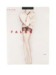 Falke Invisible Deluxe 8 Hold Ups Black