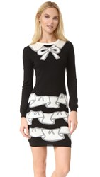 Boutique Moschino Long Sleeve Dress Multi