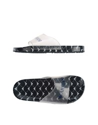Emporio Armani Footwear Sandals Men Transparent