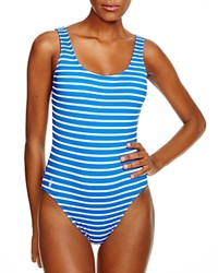 Ralph Lauren Bengal Stripe One Piece Swimsuit