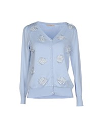 Darling Knitwear Cardigans Women Sky Blue