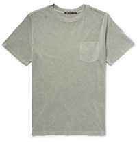 Alexander Wang Aexander T By Aexander Cotton Jersey T Shirt Sage Green