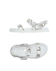 Bb Washed By Bruno Bordese Footwear Sandals Women White