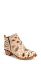 Women's Lucky Brand 'Basel' Perforated Bootie 1 1 2' Heel