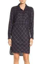 French Connection Women's Fast Darla Plaid Shirtdress