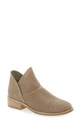 Eileen Fisher Women's 'Leaf' Bootie Women Earth Perforated Leather