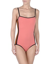Laura Urbinati One Piece Swimsuits Coral