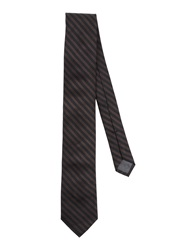 Ck Calvin Klein Ties Dark Brown