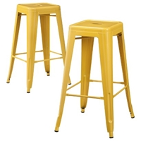 Carlisle Metal Bar Stool Set Of 2