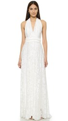 Twobirds Lace Ballgown Ivory