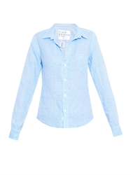 Frank And Eileen Barry Checked Linen Shirt