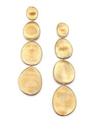 Marco Bicego Lunaria 18K Yellow Gold Long Drop Earrings