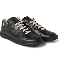 Maison Martin Margiela Panelled Leather Sneakers