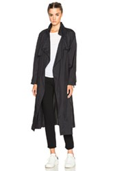 Isabel Marant Dracen Rain Coat In Black