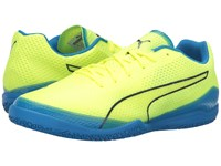 Puma Invicto Fresh Safety Yellow Peacoat Electric Blue Lemonade Men's Shoes