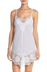 Women's In Bloom By Jonquil Eyelet Cotton Chemise