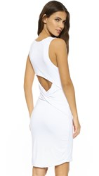 Feel The Piece Razor Open Back Dress White