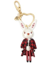 Betsey Johnson Keychains Red