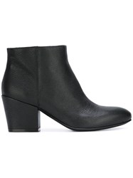 Buttero Pointed Toe Ankle Boots Black