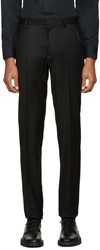 Calvin Klein Black Wool Exact Trousers