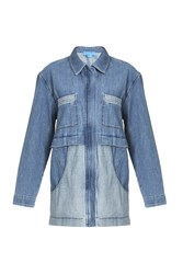 Mih Jeans Painters Parka Jacket Blue
