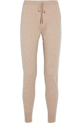 Madeleine Thompson Bagby Cashmere Track Pants Beige