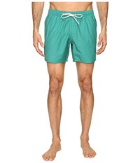 Lacoste Taffeta Swimming Trunk Chives White Men's Swimwear Green