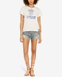 Denim And Supply Ralph Lauren Peace Love Graphic T Shirt