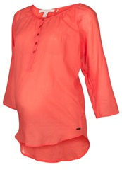 Esprit Maternity Tunic Hot Coral