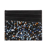 Maison Martin Margiela 11 Paint Splash Card Holder Black