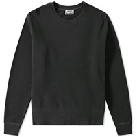 Acne Studios Casey Vintage Crew Sweat Black