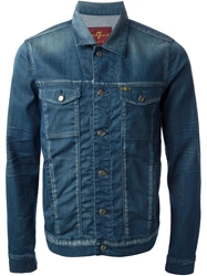 7 For All Mankind Classic Denim Jacket Blue
