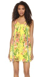 Plenty By Tracy Reese Smocked Mini Dress Jakarta Floral