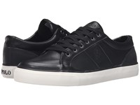 Polo Ralph Lauren Ian Black Smooth Sport Leather Men's Shoes