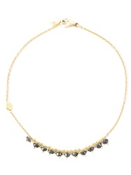 Natasha Collis Black Diamond Bracelet Metallic