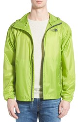 The North Face Men's 'Cyclone' Windwall Raincoat Macaw Green