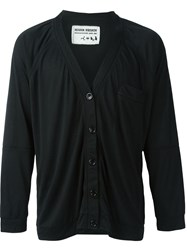 Henrik Vibskov Relaxed Fit Button Down 'River' Cardigan Black