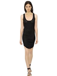 Etoile Isabel Marant Ribbed Cotton Jersey Dress