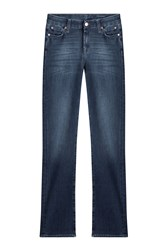 7 For All Mankind Seven Straight Leg Jeans Blue